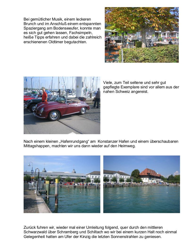 Treffen in Konstanz, Berich3t
