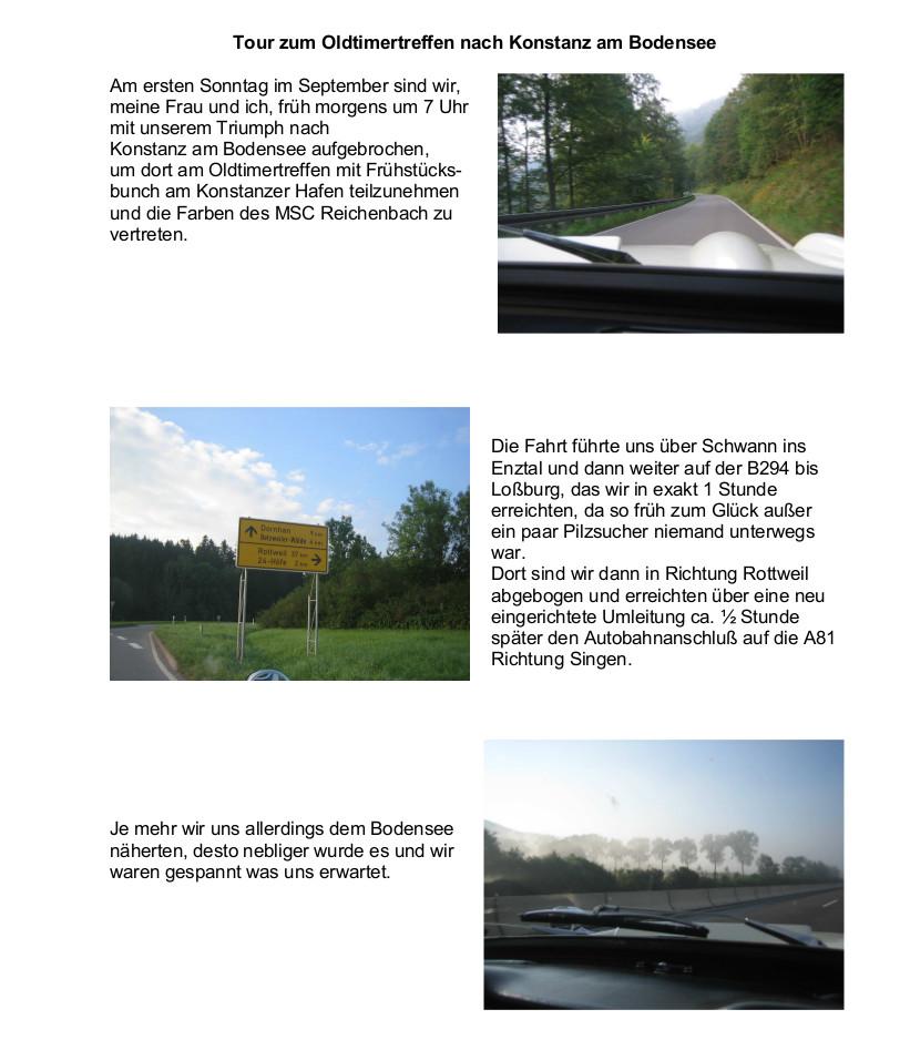 Treffen in Konstanz, Bericht1